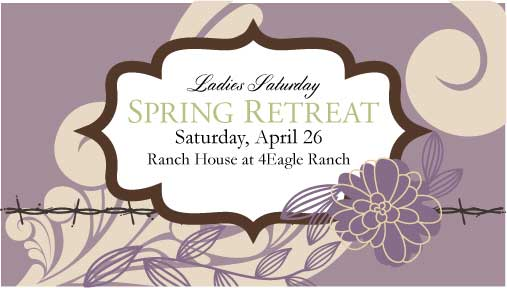 Womens Saturday Retreat